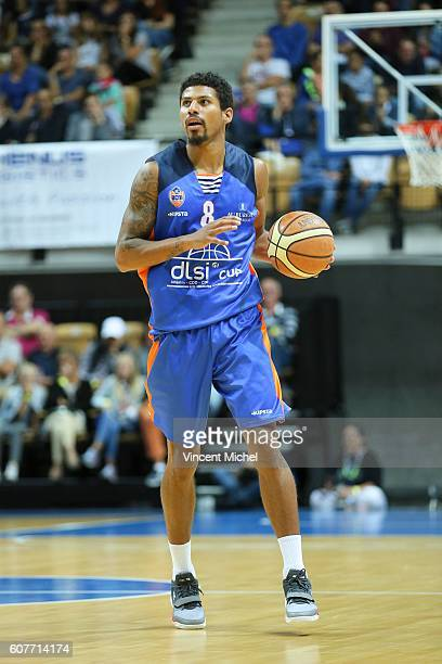Steven Gray of Gravelines during the Final match between Strasbourg and Gravelines Dunkerque at Tournament ProStars at Salle Arena Loire on September...