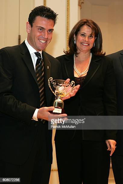 Steven Green and Lorraine Bracco attend The Italian Academy Foundation Inc Honors Steven Green at Carnegie Hall on December 9 2006 in New York City