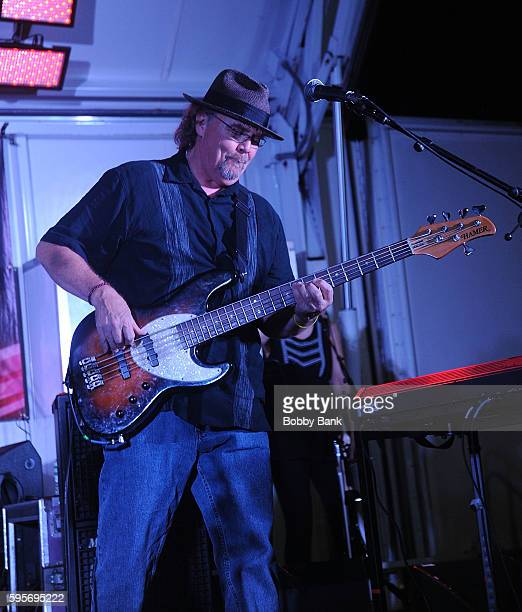 Steven Gustafson of 10000 Maniacs perform 10000 Manics The Smithereens In Concert at Union County Performing Arts Center on August 25 2016 in Rahway...