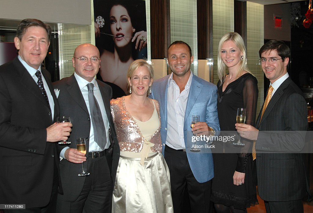 De Beers First Anniversary Party : News Photo