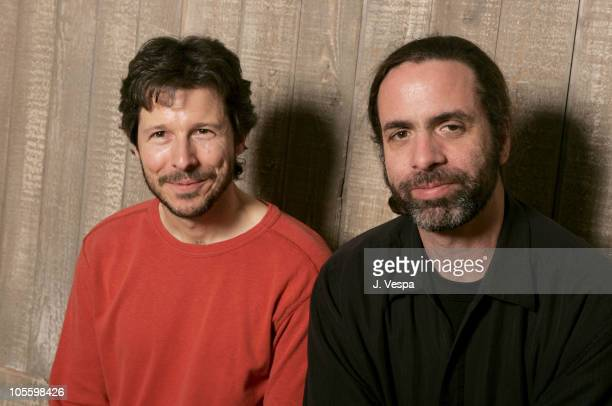 Steven Hoban and Chris Landreth director of 'Ryan'