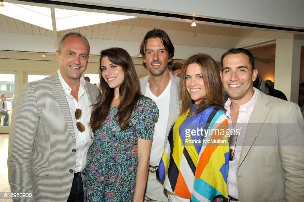 Steven Horn Jia Castro Nathan Orsman Shay Gipson and Jose Castro attend MIRACLE HOUSE 20th Anniversary Memorial Day Summer Kickoff Benefit honoring...