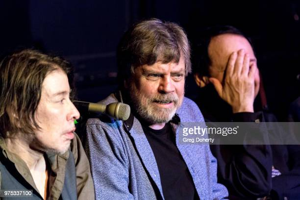 Steven Hufsteter Mark Hamill and Danny Benair attend The Quick In Conversation With Mark Hamill Earl Mankey And Lisa Fancher at Beyond Baroque...