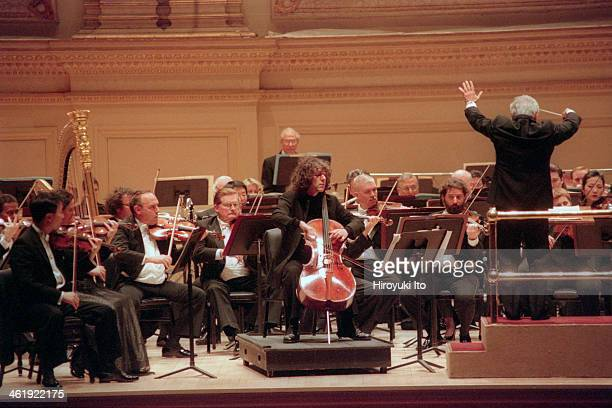 Steven Isserlis performing Henri Dutilleux's cello concerto ''Tout un monde lointain' with the Philadelphia Orchestra led by Vladimir Ashkenazy at...