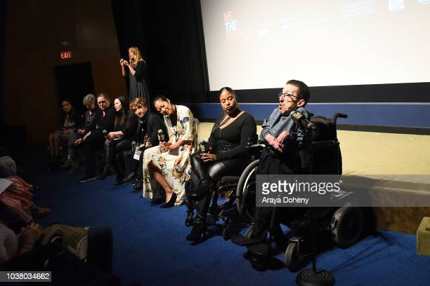 Steven James Tingus Winnie Kemp Nick Novicki Gail WilliamsonTatiana Lee Monika Mikkelsen Elizabeth White and Angela Rockwood attend the 2018 LA Film...