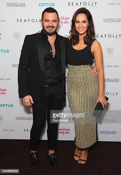 Steven Khalil and Zoe Marshall arrives ahead of the 2016 Pinky Promise Gala at The Star on June 17 2016 in Sydney Australia