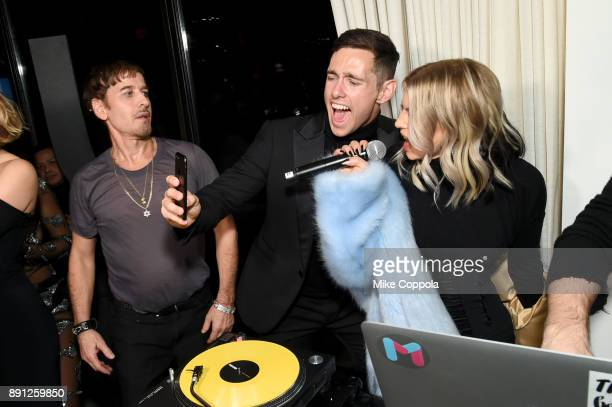 Steven Klein Liam Malone and Fergie attend the CR Fashion Book Celebrating launch of CR Girls 2018 with Technogym at Spring Place on December 12 2017...