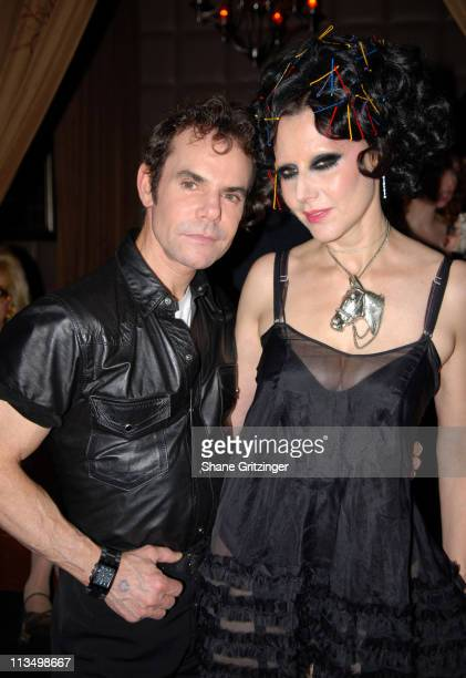 Steven Knolls and Susanne Bartsch during The Launch Of La Dolce Eve Kitten Doll Hosted By Amanda Lepore February 20 2007 at Room Service in New York...