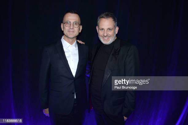 Steven Kolb and Kobi Halperin attend 22nd Annual Collaborating For A Cure Gala Benefiting The Samuel Waxman Cancer Research Foundation on November 21...