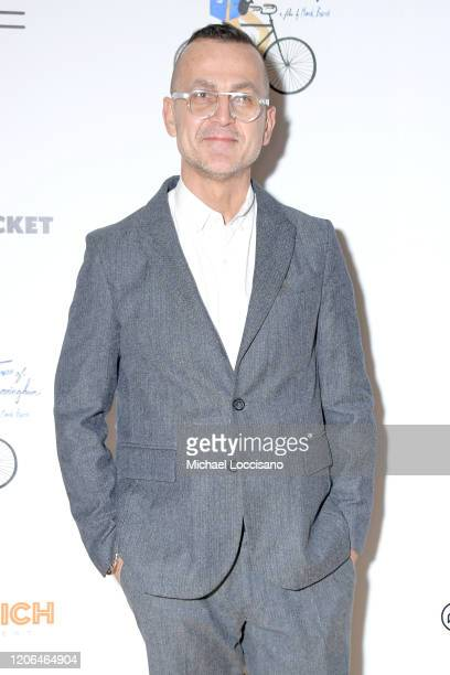 Steven Kolb attends a New York screening of the documentary The Times of Bill Cunningham at the Angelika Film Center on February 13 2020 in New York...