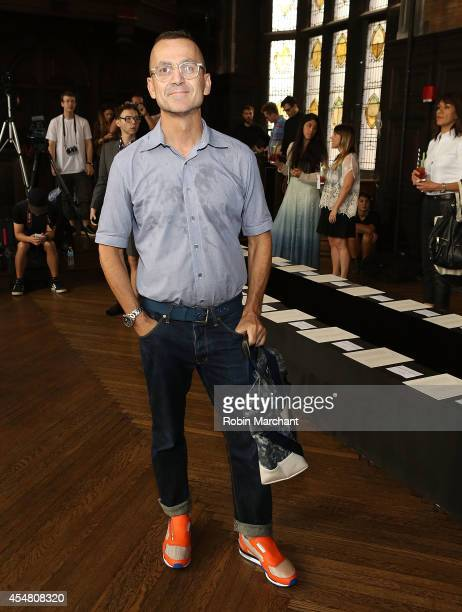 Steven Kolb attends Billy Reid during MercedesBenz Fashion Week Spring 2015 at The Highline Hotel on September 6 2014 in New York City