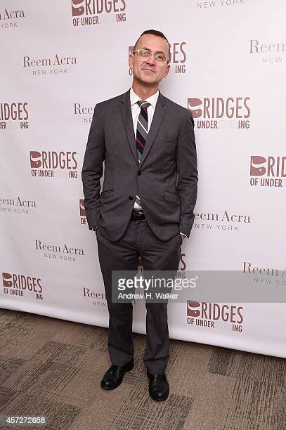 Steven Kolb attends Bridges Of Understanding's annual Building Bridges award dinner honoring designer Reem Acra with Steven Kolb on October 15 2014...
