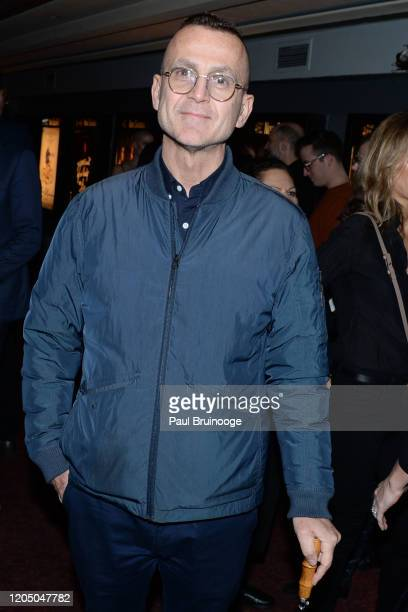Steven Kolb attends New York Premiere Of The Social Ones at Village East Cinema on March 3 2020 in New York City