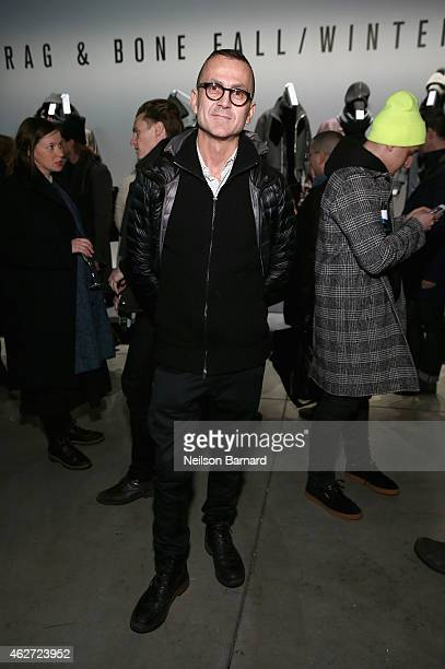 Steven Kolb attends Rag Bone Fall/Winter 2015 Menswear Presentation at Dia Center on February 3 2015 in New York City