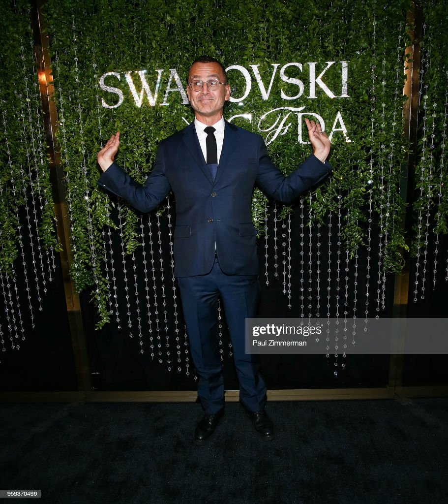 Steven Kolb attends the 2018 CFDA Fashion Awards' Swarovski Award For Emerging Talent Nominee Cocktail Party at DUMBO House on May 16, 2018 in New York City.