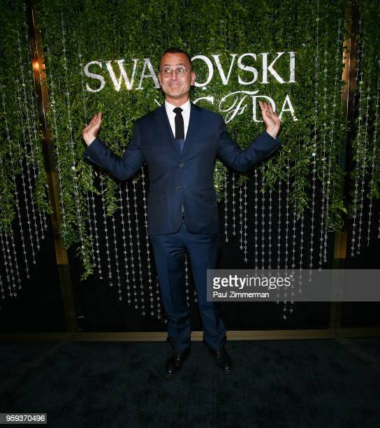 Steven Kolb attends the 2018 CFDA Fashion Awards' Swarovski Award For Emerging Talent Nominee Cocktail Party at DUMBO House on May 16 2018 in New...