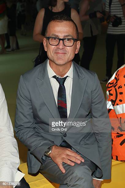 Steven Kolb attends the AKRIS fashion show during New York Fashion Week at Lever House on September 9 2016 in New York City