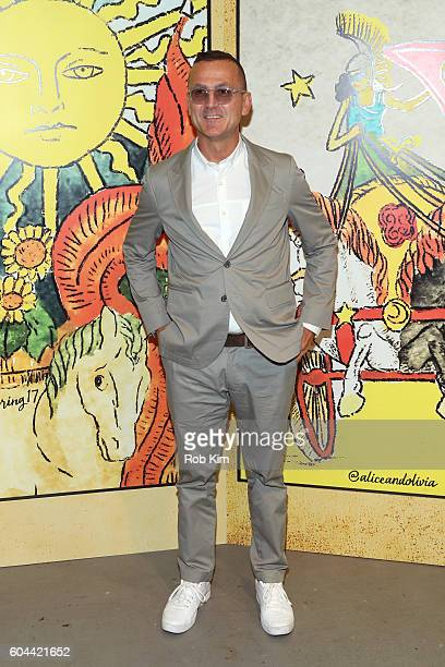Steven Kolb attends the Alice Olivia by Stacey Bendet Spring/Summer 2017 Presentation during New York Fashion Week September 2016 at Skylight at...
