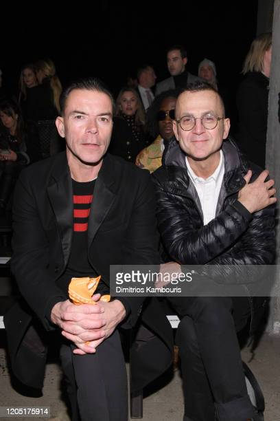Steven Kolb attends the Jason Wu Collection during February 2020 New York Fashion Week The Shows at Skylight Modern on February 09 2020 in New York...