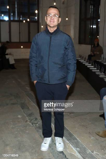 Steven Kolb attends the Monse fashion show during February 2020 New York Fashion Week The Shows on February 07 2020 in New York City