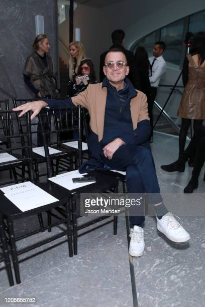 Steven Kolb attends the Naeem Khan fashion show during February 2020 New York Fashion Week The Shows on February 11 2020 in New York City