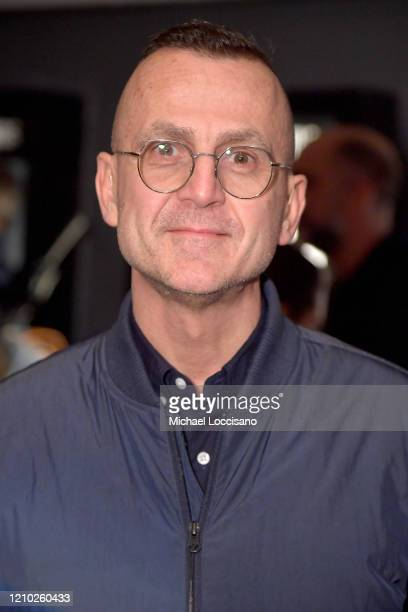 """Steven Kolb attends the New York premiere of """"The Social Ones"""" at Village East Cinema on March 03, 2020 in New York City."""