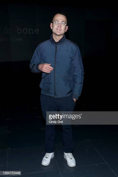 Steven Kolb attends the Rag Bone fashion show during February 2020 New York Fashion Week The Shows on February 07 2020 in New York City