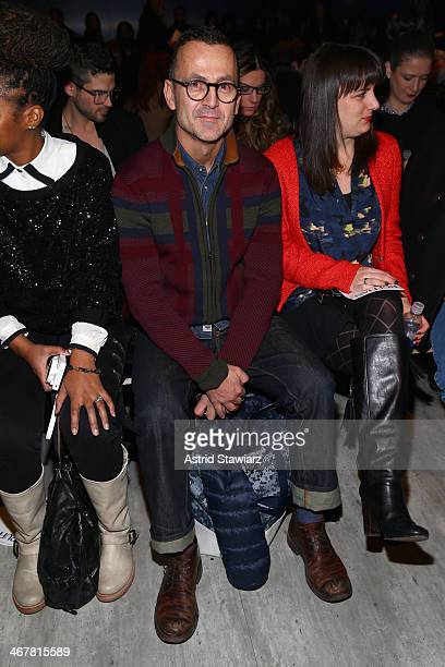 Steven Kolb attends the Ruffian fashion show during Mercedes-Benz Fashion Week Fall 2014 at The Pavilion at Lincoln Center on February 8, 2014 in New...