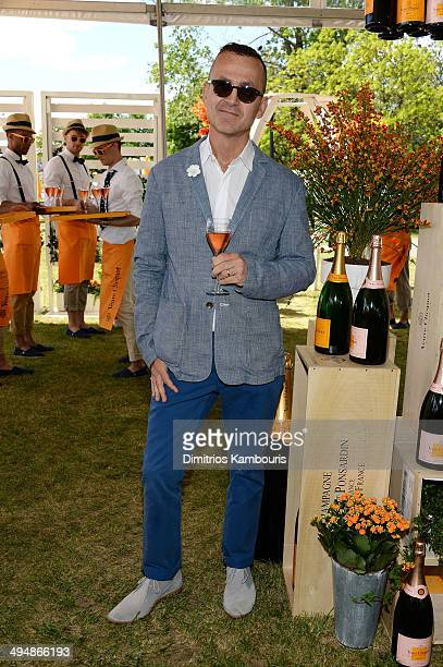 Steven Kolb attends the seventh annual Veuve Clicquot Polo Classic in Liberty State Park on May 31 2014 in Jersey City City