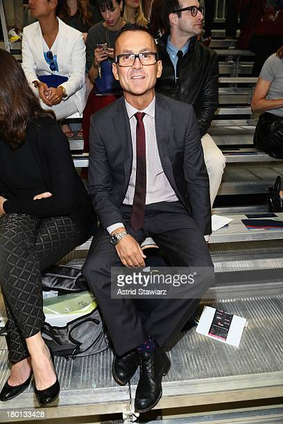 Steven Kolb attends the Tommy Hilfiger Women's fashion show during MercedesBenz Fashion Week Spring 2014 at Pier 94 on September 9 2013 in New York...