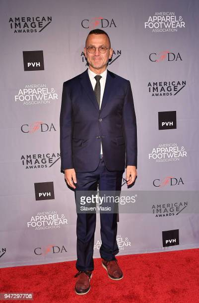 Steven Kolb President and CEO CFDA attends American Apparel Footwear Association's 40th Annual American Image Awards 2018 on April 16 2018 in New...