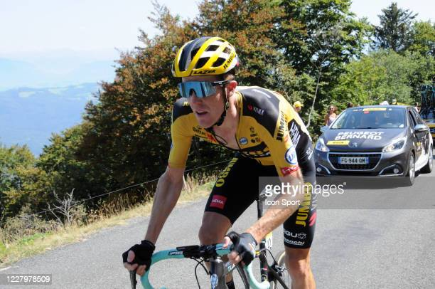 Steven Kruijswijk of Jumbo - Visma. During the Tour de l'Ain - stage 3 from Saint Vulbas to Grand Colombier on August 9, 2020 in UNSPECIFIED,...
