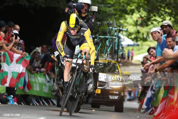 Steven Kruijswijk of The Netherlands and Team LottoNL - Jumbo / during the 105th Tour de France 2018, Stage 20 a 31km Individual Time Trial stage...