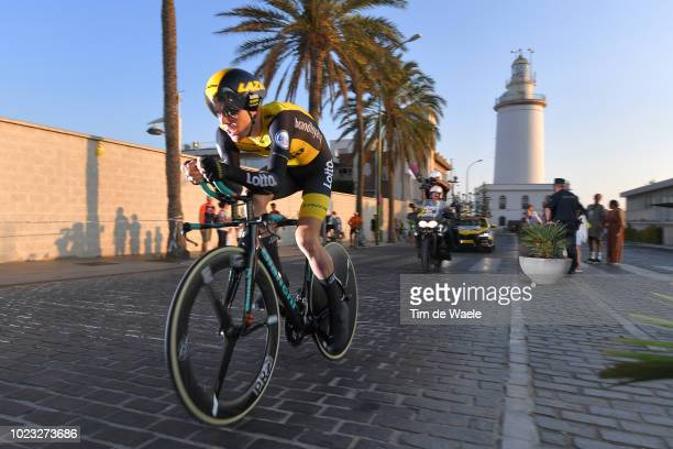 Steven Kruijswijk of The Netherlands and Team LottoNL Jumbo / Lighthouse / during the 73rd Tour of Spain 2018 Stage 1 a 8km Individual Time Trial...
