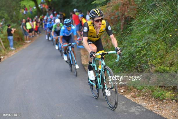 Steven Kruijswijk of The Netherlands and Team LottoNL - Jumbo / during the 73rd Tour of Spain 2018, Stage 14 a 171,4km stage from Cistierna to Alto...
