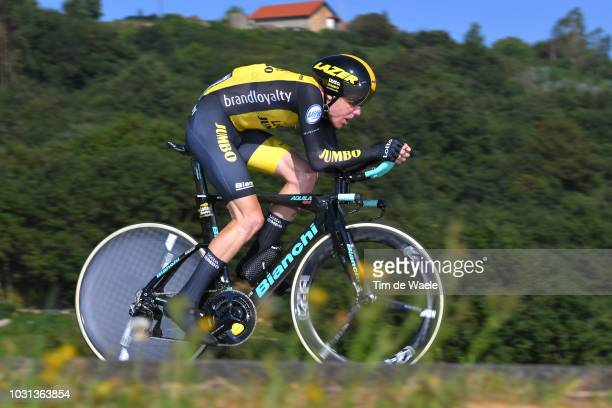 Steven Kruijswijk of The Netherlands and Team LottoNL - Jumbo / during the 73rd Tour of Spain 2018, Stage 16 a 32km Individual Time Trial stage from...
