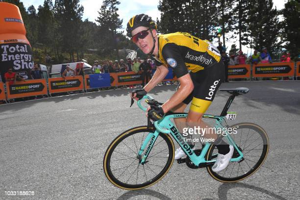 Steven Kruijswijk of The Netherlands and Team LottoNL - Jumbo / during the 73rd Tour of Spain 2018, Stage 19 a 154,4km stage from Lleida to...
