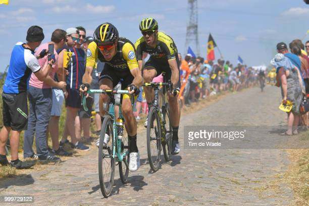Steven Kruijswijk of The Netherlands and Team LottoNL Jumbo / during the 105th Tour de France 2018 Stage 9 a 1565 stage from Arras Citadelle to...