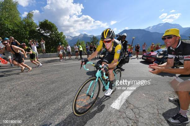 Steven Kruijswijk of The Netherlands and Team LottoNL - Jumbo / Fans / Public / during the 105th Tour de France 2018, Stage 12 a 175,5km stage from...