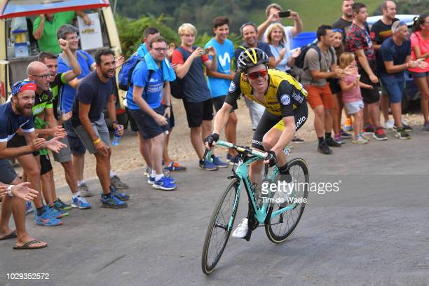 Steven Kruijswijk of The Netherlands and Team LottoNL - Jumbo / Fans / Public / during the 73rd Tour of Spain 2018, Stage 14 a 171,4km stage from...