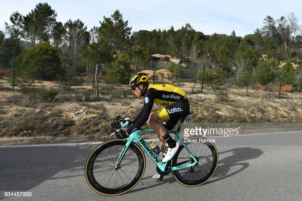 Steven Kruijswijk of The Netherlands and Team LottoNLJumbo / during the 98th Volta Ciclista a Catalunya 2018 Stage 1 a 1523km stage from Calella to...