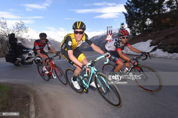 Steven Kruijswijk of The Netherlands and Team LottoNLJumbo / during the 72nd Tour de Romandie 2018 Stage 4 a 1492km stage from Sion to Sion on April...