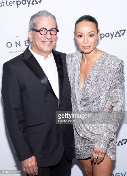 Steven Lagos and Sai De Silva attend The Daily Front Row 7th Fashion Media Awards at The Rainbow Room at Rockefeller Center