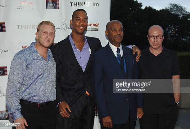 Steven Laitmon Keith Beauchamp director Simeon Wright and Mark Urman head of US theatrical of THINKFilm