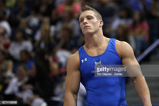 Steven Legendre, Norman, Oklahoma, during the Senior Men Competition at The 2013 P&G Gymnastics Championships, USA Gymnastics' National Championships...