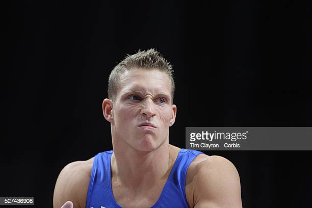 Steven Legendre Norman Oklahoma in action during the Senior Men Competition at The 2013 PG Gymnastics Championships USA Gymnastics' National...