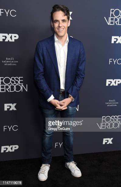 Steven Levenson arrives at the FYC Event For FX's Fosse/Verdon at Samuel Goldwyn Theater on May 30 2019 in Beverly Hills California