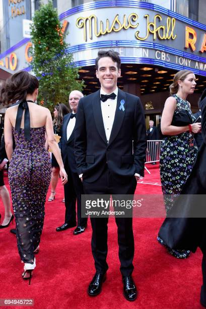 Steven Levenson attends the 2017 Tony Awards at Radio City Music Hall on June 11 2017 in New York City