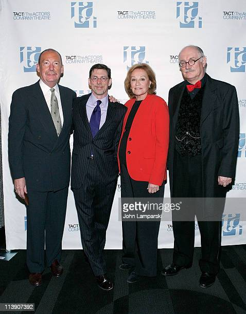 Steven Lindenmuth Scott Alan Evans Cynthia Harris and Simon Jones attend the TACT/The Actors Company Theatre Spring Gala at The Edison Ballroom on...