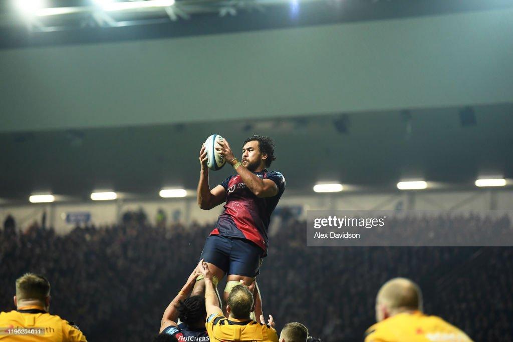 Bristol Bears v Wasps - Gallagher Premiership Rugby : News Photo